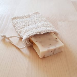 Bolsa de sisal para jabón