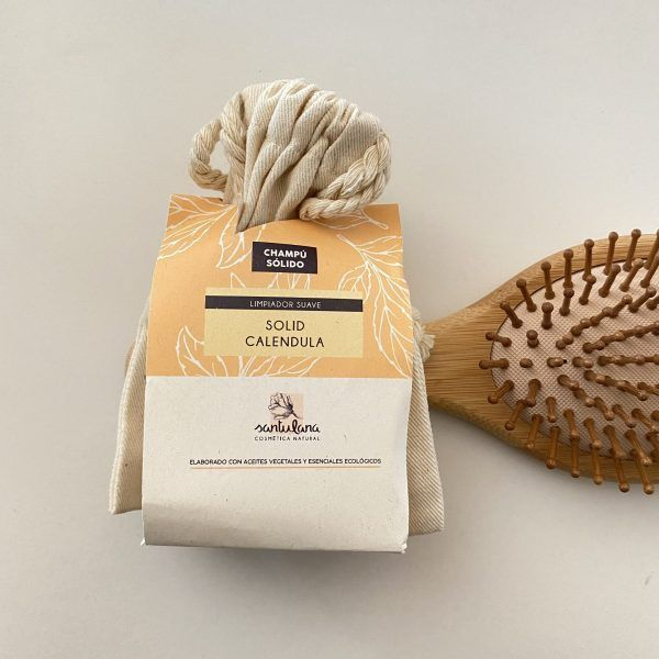 champu solid calendula -santulana