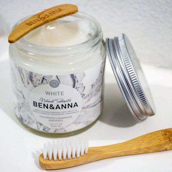 Dentífrico blanqueador natural Ben & Anna