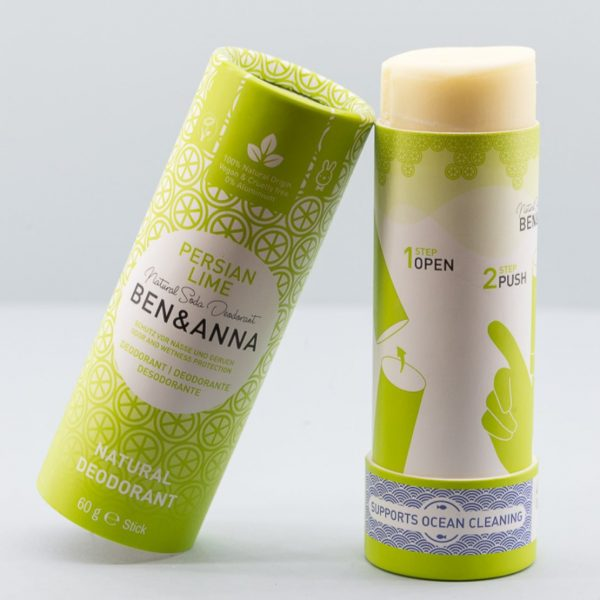 Desodorante sólido persian lime Ben & Anna