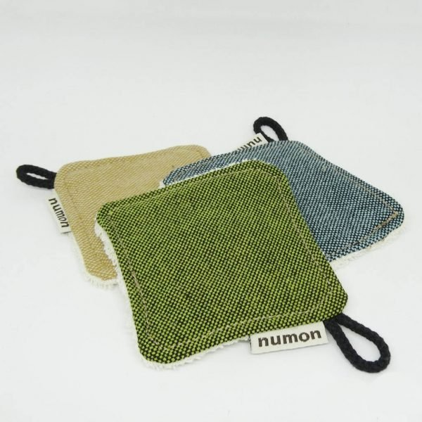discos desmaquillantes de tela reutilizables - Numon