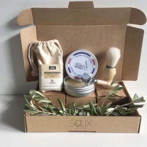 Pack afeitado residuo cero de Salix