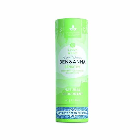 """Desodorante sólido Sensitive """"Lemon & Lime"""" - Ben & Anna"""