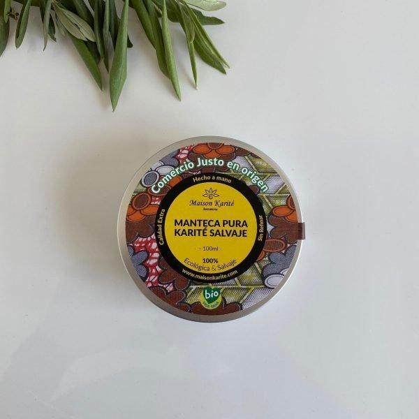 manteca de karité salvaje