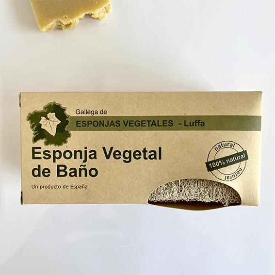 Esponja vegetal baño Iberluffa