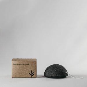 Esponja-konjac-corporal-negra-banbu