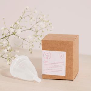 Copa menstrual sin plastico