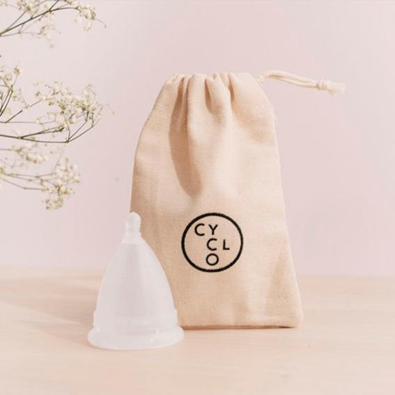 Copa menstrual sin residuos de plástico