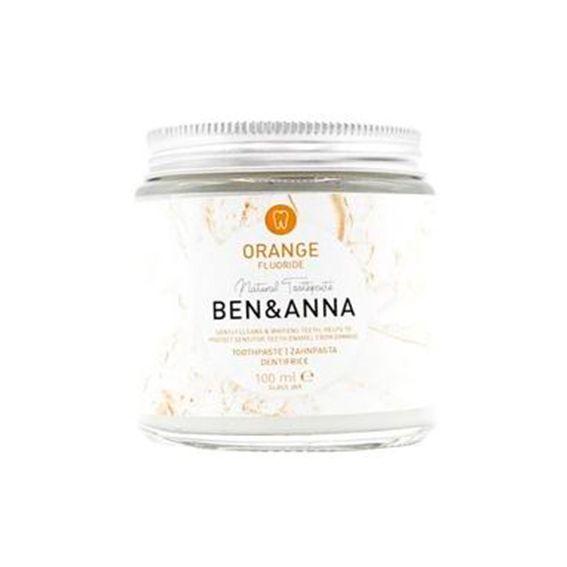Dentífrico con Flúor, sabor naranja - Ben & Anna