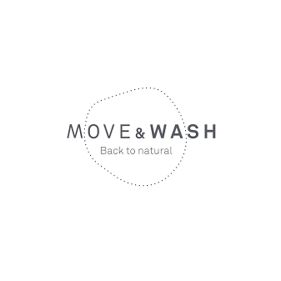 Logo Move & Wash