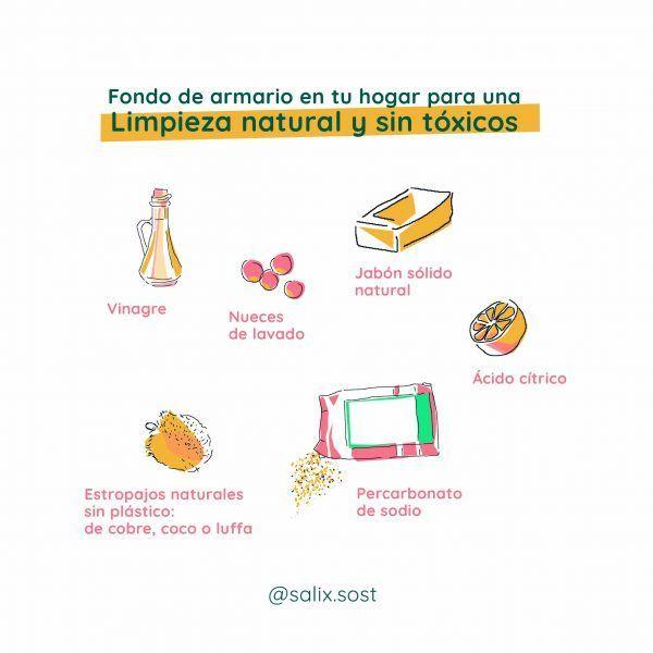 productos para limpieza sin tóxicos