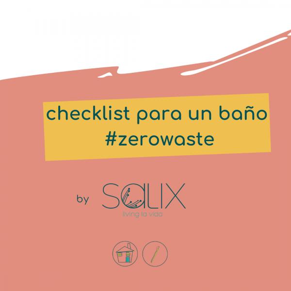 checklist baño zerowaste