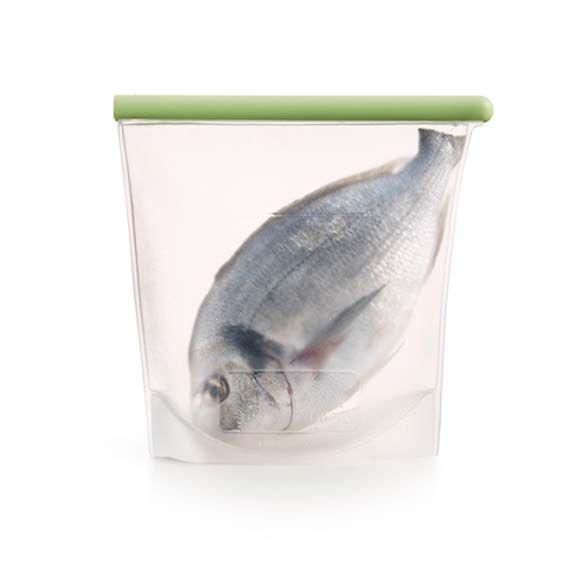 Bolsa de silicona con pesado en su interior