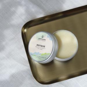 Desodorante sólido en crema, Bosque de Santulana